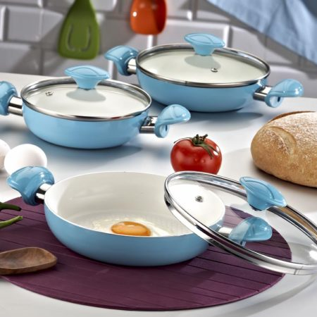 seramik omlet seti
